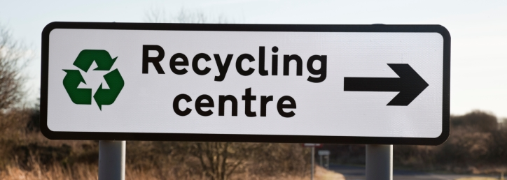 Recycling Centres Banner