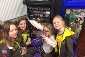 Brownies Recycling