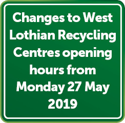 Recycling Centre Changes